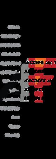 standard acrylic font styles sec-08-05.p