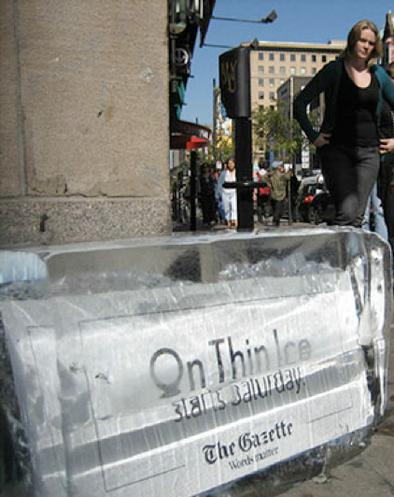 The Gazette On Thin Ice