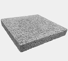 placa de concreto drenante