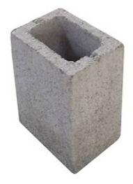 bloco estrutural meio bloco 14x19x19 cm