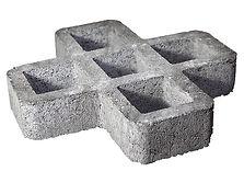piso modelo ecológico ou pisograma ou concregrama