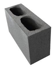 bloco estrutural de vedação 14x19x39 cm