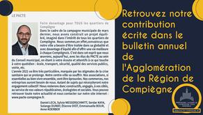 Notre contribution dans le bulletin annuel de l'ARC