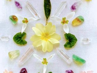 Crystal Healing Mandala