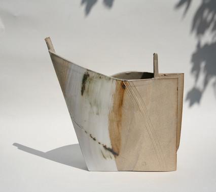 Stoneware Copper Vessel