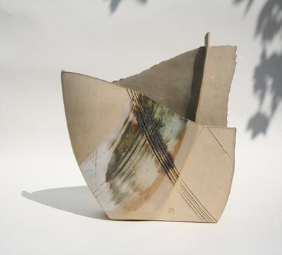 Stoneware Copper Vessel (medium)