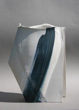 Medium Blue Vessel (SOLD)