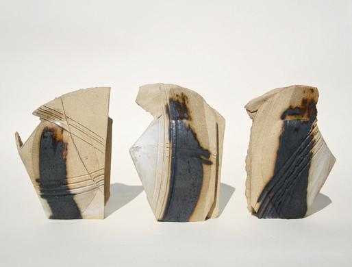 Toasty Stoneware Mini Vessels