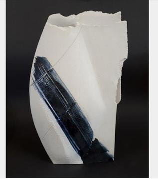 Large Blue Vessel (SOLD)
