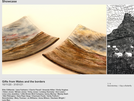 Gifts from Wales and the Borders: Winter Showcase - Mostyn Gallery