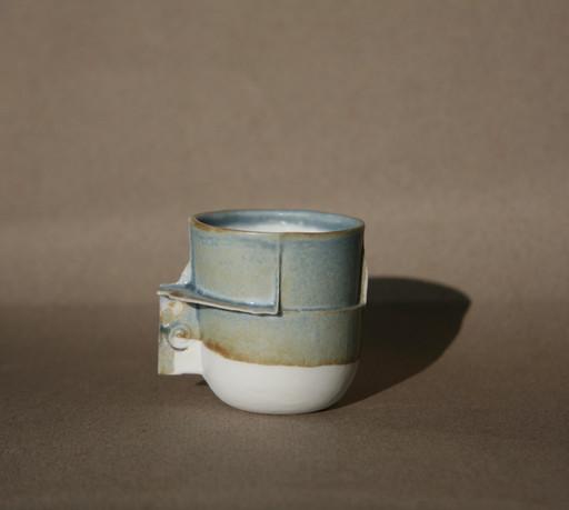 Reduction glaze Edge Cup