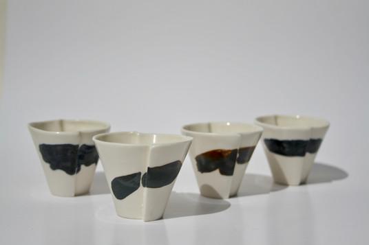 Porcelain Edge Shot Cups