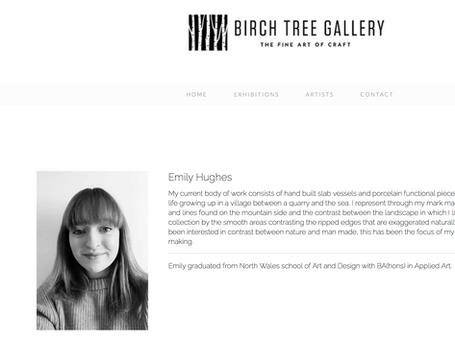 Birch Tree gallery August - September 2020