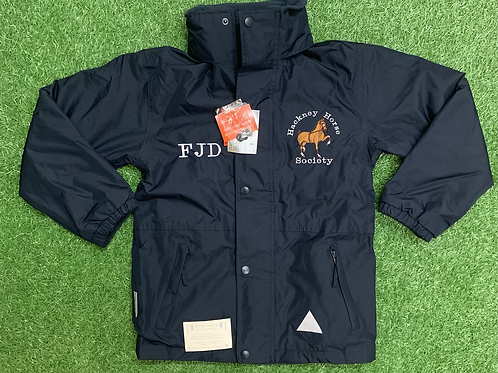 Kid's Hackney Horse Society StormDri Jacket (Excluding a Name or Initials)