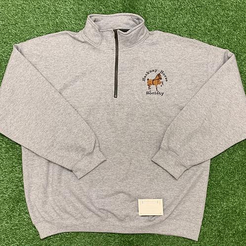 Men's Hackney Horse Society Gildan Collar Sweatshirt