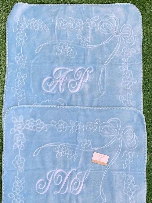 Blue Soft Spanish Blankets
