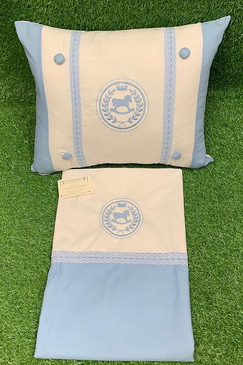 Rocking Horse Crest-Pillow & Sheet