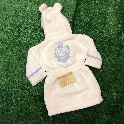 Towel Crown Crest Robe