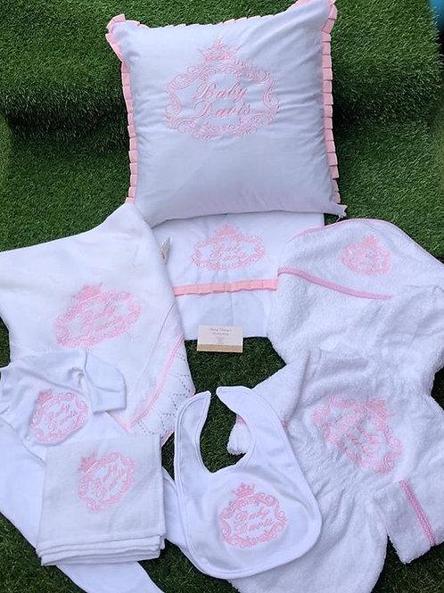 Pink Crown Design Set