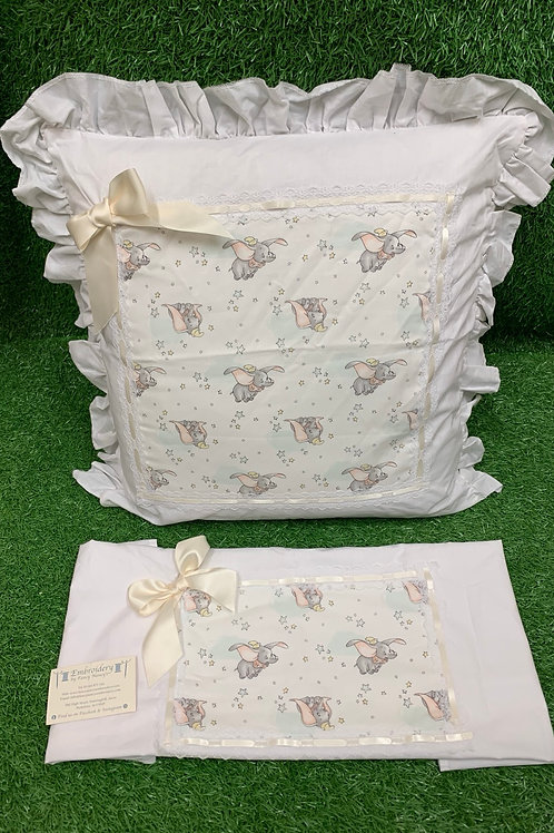 'Elephant' Pillow & Sheet Set