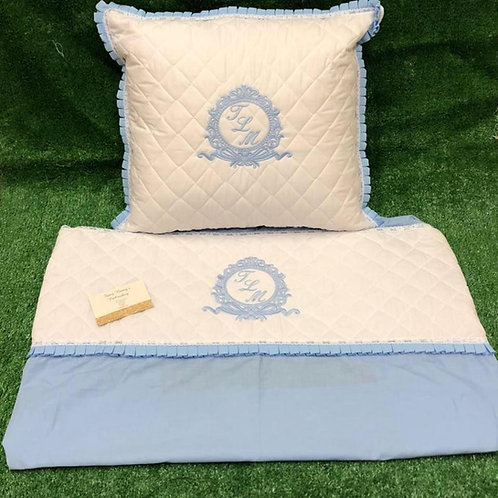 Quilted Pillow & Sheet Set