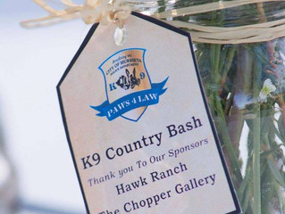 Paws4Law Foundation K9 Country Bash Event