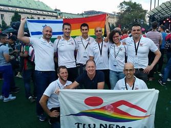 סיבה לגאווה: מדליות לישראלים באליפות העולם בשחייה לקהילה הגאה