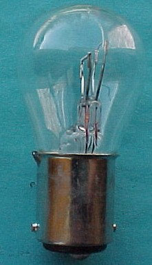 6-Volt Tail Light Bulb. 1936 to 1953 Chief. Will Fit  Orginal Sockets Only.