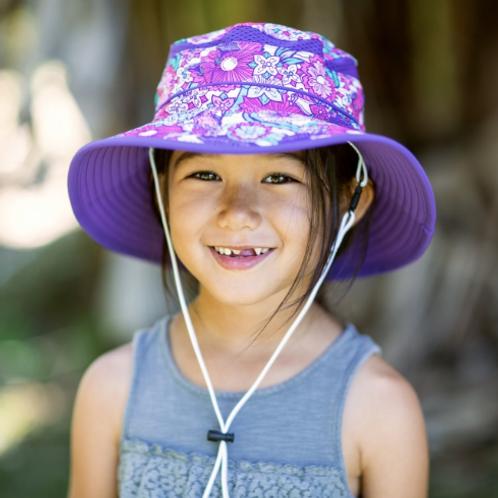 SUNDAY AFTERNOON KIDS' PLAY HAT-FLOWER GARDEN BUCKET