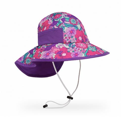 SUNDAY AFTERNOON KIDS' PLAY HAT-FLOWER GARDEN