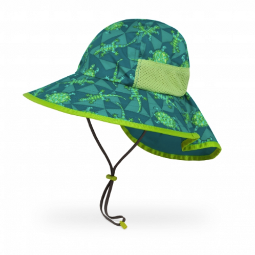 SUNDAY AFTERNOON KIDS' PLAY HAT-GREEN REPTILE