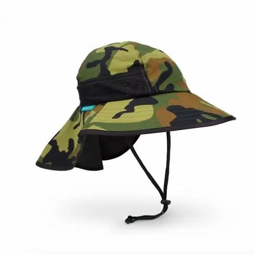 SUNDAY AFTERNOON KIDS' PLAY HAT-Green Camo
