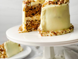 The Best Old-Fashioned Carrot Cake with Cream Cheese Frosting