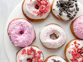 Homemade Frosted Donuts
