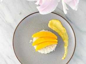 Simple Thai Mango Sticky Rice