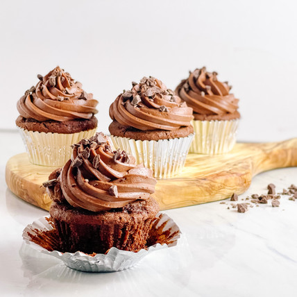 Easy Chocolate Condensed Milk Cupcakes