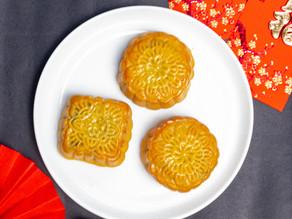 Chinese Red Bean Moon Cakes, Xīn nián kuài lè!