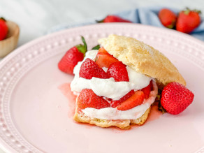 Easy Fresh Springtime Strawberry Shortcake Recipe