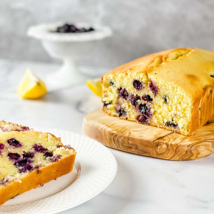 Bursts of Flavor with Our Gluten Free Lemon Blueberry Loaf Cake