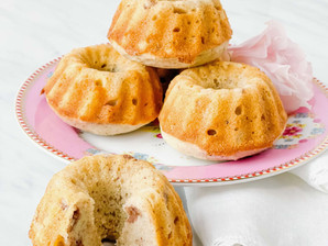 Gluten-Free Mochi Style Mini Bundt Cakes