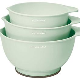 KitchenAid Classic Mixing Bowls -Pistach