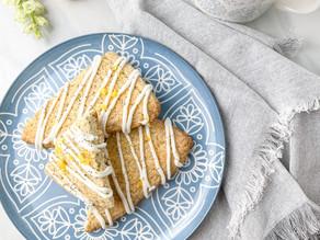 Buttery Zesty Lemon Poppy Seed Scones
