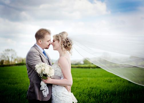 Matt and Imogen - Racket Hall wedding