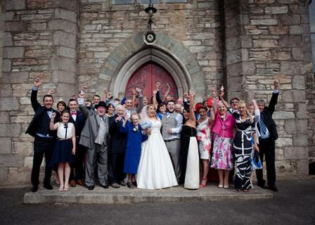 Barntown Church Wedding