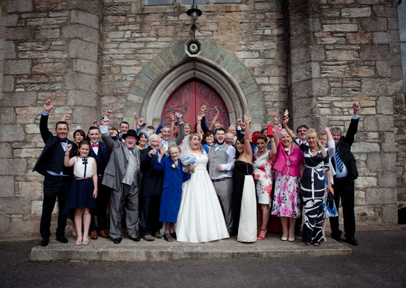 Barntown Church Wedding