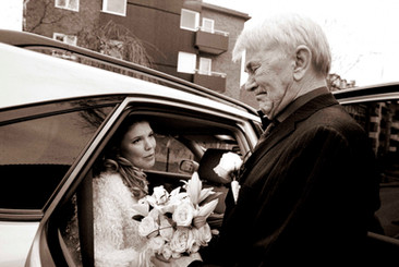 Tears at a Swedish wedding