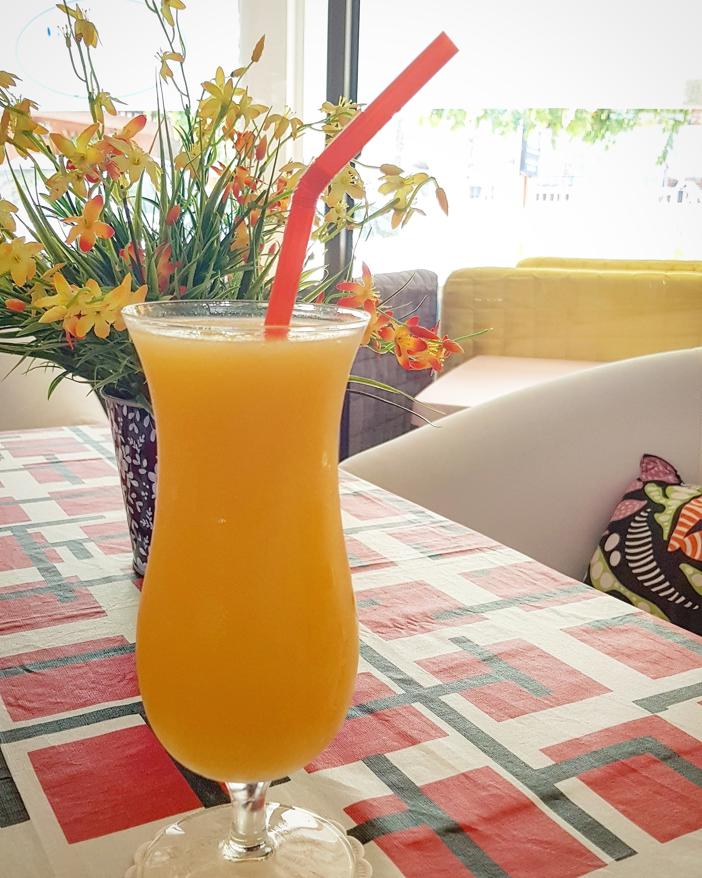 Blended Mango Juice