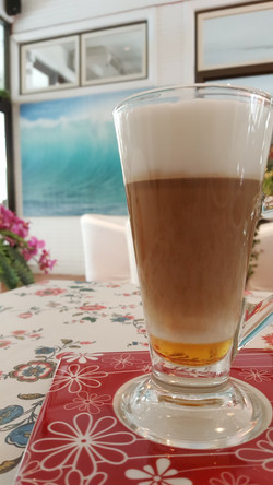 Hot Caramel Latte