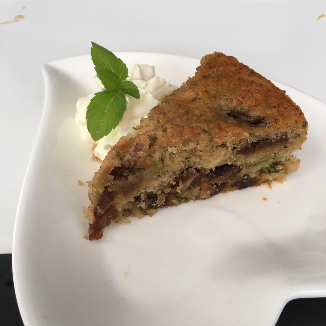 Date and Zucchini Cake
