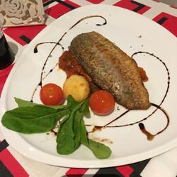 Seabass Ratatouille